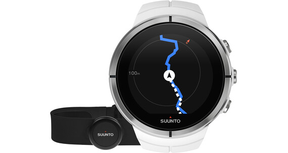 Suunto Spartan Ultra HR Watch White Chest